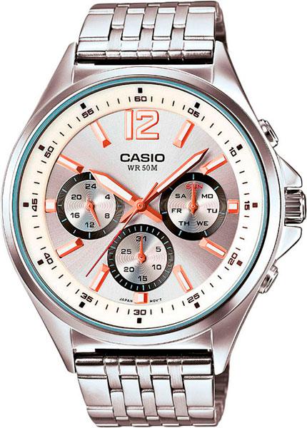 Наручные мужские часы Casio MTP-E303D-7A
