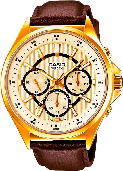Наручные мужские часы Casio MTP-E303GL-9A