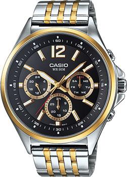Наручные мужские часы Casio MTP-E303SG-1A