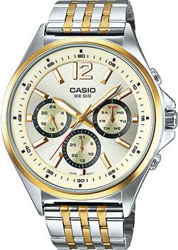 Наручные мужские часы Casio MTP-E303SG-9A