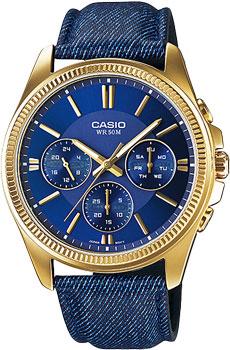 Наручные мужские часы Casio MTP-E304GBL-2A