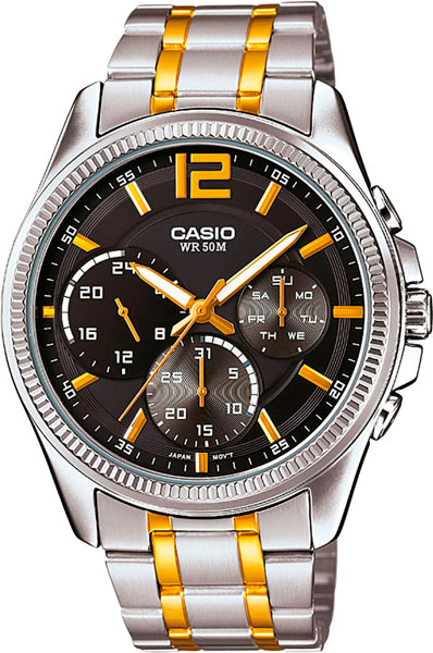 Наручные мужские часы Casio MTP-E305SG-1A