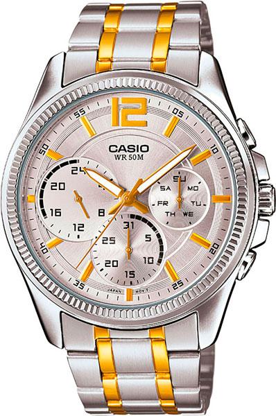 Наручные мужские часы Casio MTP-E305SG-9A