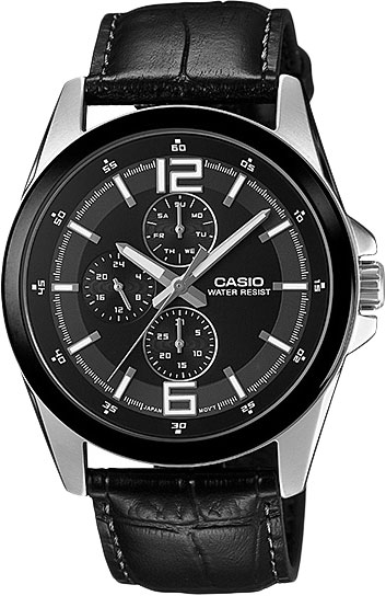 Наручные мужские часы Casio MTP-E306L-1A