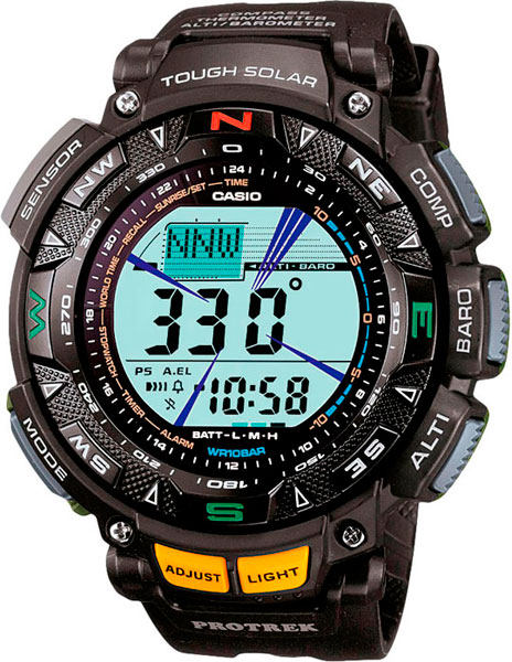 Наручные мужские часы Casio PRG-240-1E