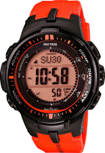 Наручные мужские часы Casio PRW-3000-4D