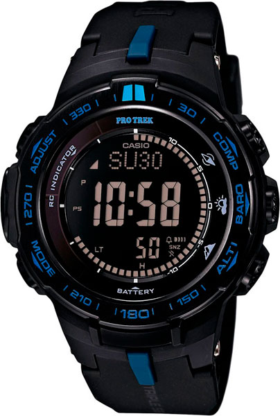 Наручные мужские часы Casio PRW-3100Y-1E