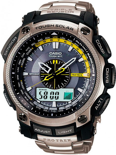 Наручные мужские часы Casio PRW-5000T-7E