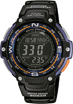 Наручные мужские часы Casio SGW-100-2B