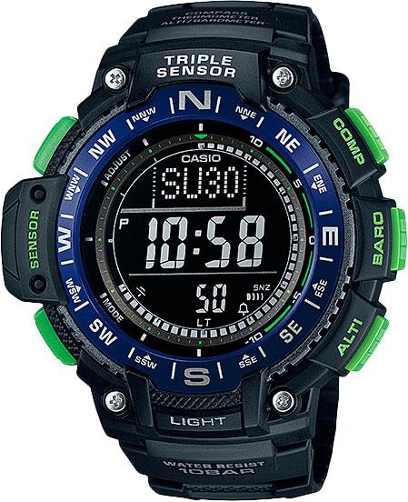 Наручные мужские часы Casio SGW-1000-2B