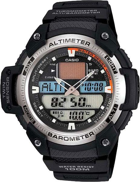 Наручные мужские часы Casio SGW-400H-1B