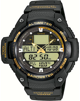 Наручные мужские часы Casio SGW-400H-1B2