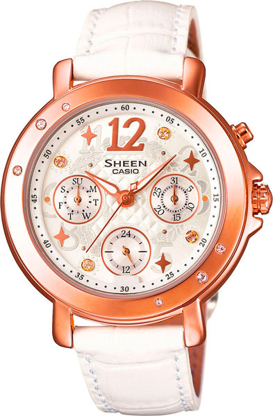 Наручные женские часы Casio SHE-3033GL-7A