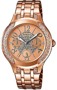 Наручные женские часы Casio SHE-3803PG-9A