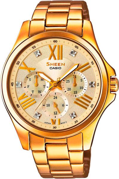 Наручные женские часы Casio SHE-3806GD-9A