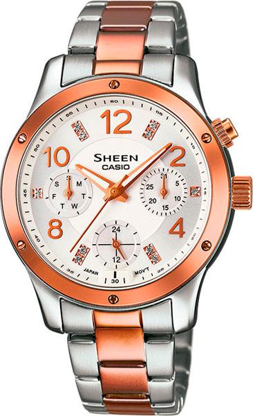 Наручные женские часы Casio SHE-3807SPG-7A