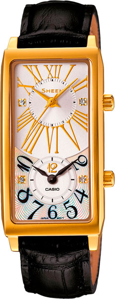 Наручные женские часы Casio SHE-4035GL-7A