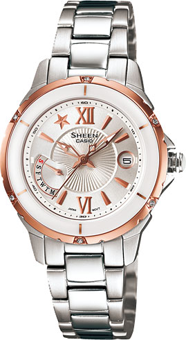 Наручные женские часы Casio SHE-4505SG-7A