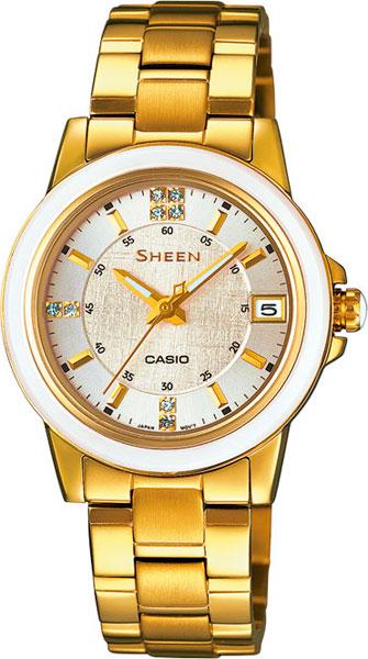 Наручные женские часы Casio SHE-4512G-7A