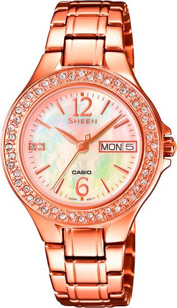 Наручные женские часы Casio SHE-4800PG-9A