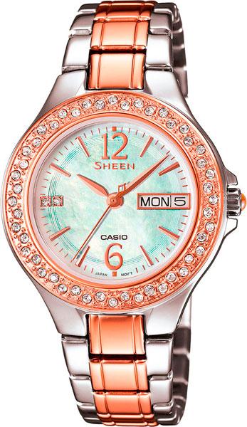 Наручные женские часы Casio SHE-4800SG-7A