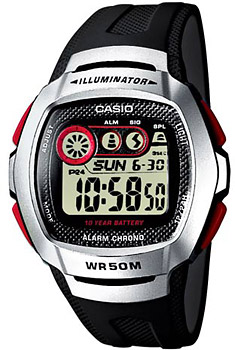 Наручные мужские часы Casio W-210-1D