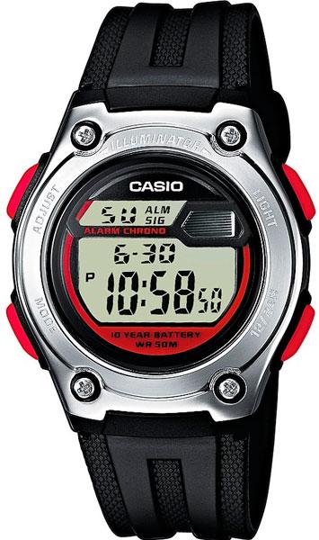 Наручные мужские часы Casio W-211-1B