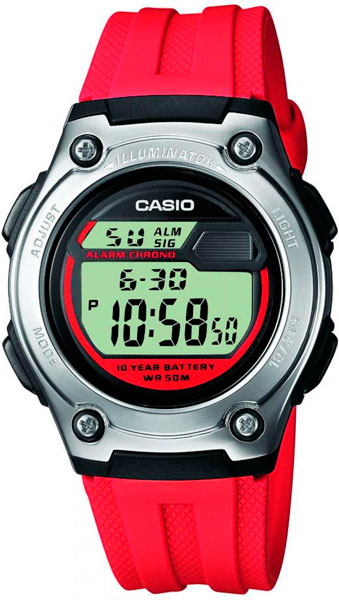 Наручные мужские часы Casio W-211-4A