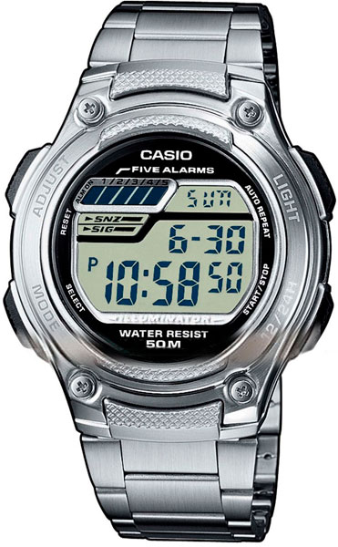 Наручные мужские часы Casio W-211D-1A