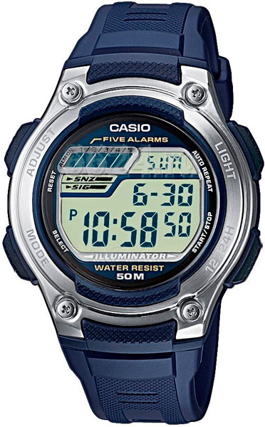 Наручные мужские часы Casio W-212H-2A