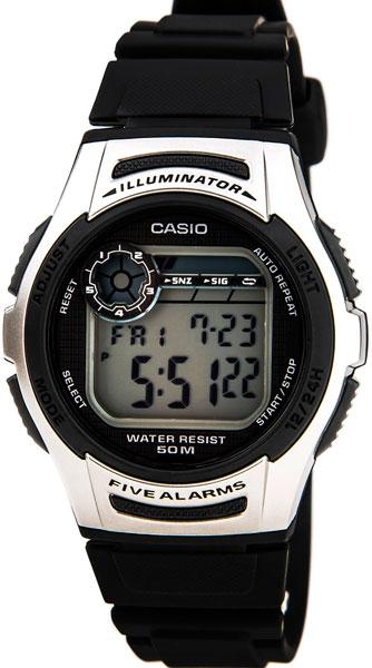 Наручные мужские часы Casio W-213-1A