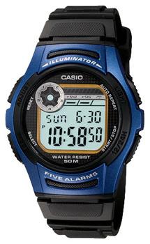 Наручные мужские часы Casio W-213-2A