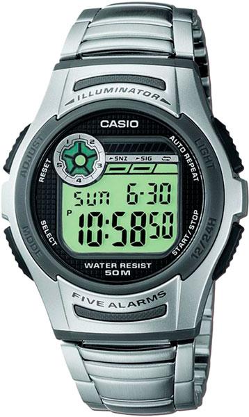 Наручные мужские часы Casio W-213D-1A