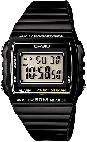 Наручные мужские часы Casio W-215H-1A