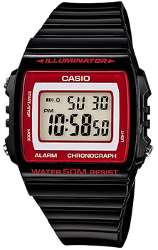 Наручные мужские часы Casio W-215H-1A2