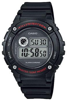 Наручные мужские часы Casio W-216H-1A