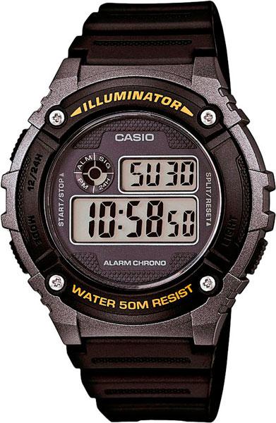 Наручные мужские часы Casio W-216H-1B