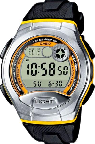 Наручные мужские часы Casio W-752-9B