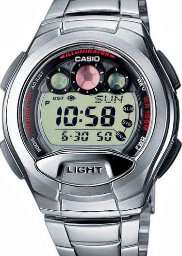 Наручные мужские часы Casio W-755D-1A
