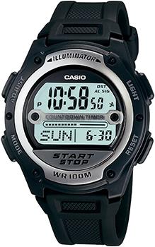 Наручные мужские часы Casio W-756-1A