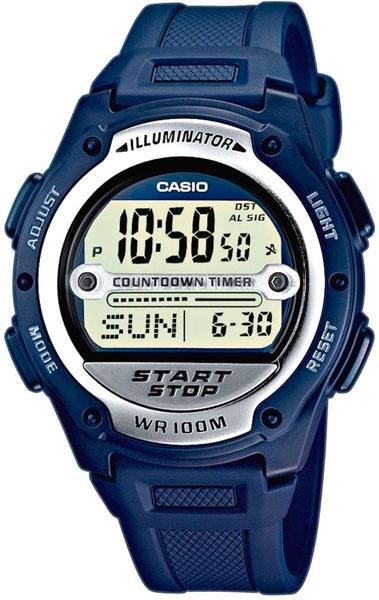 Наручные мужские часы Casio W-756-2A