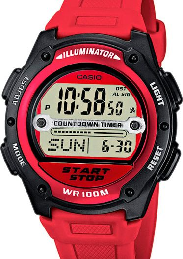 Наручные мужские часы Casio W-756-4A