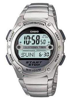 Наручные мужские часы Casio W-756D-7A