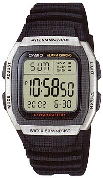 Наручные мужские часы Casio W-96H-1A