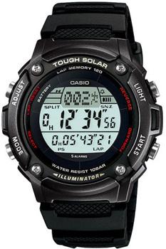 Наручные мужские часы Casio W-S200H-1B