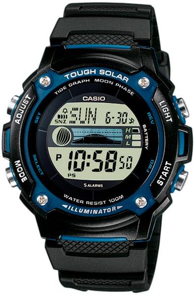 Наручные мужские часы Casio W-S210H-1A