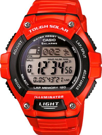Наручные мужские часы Casio W-S220C-4A