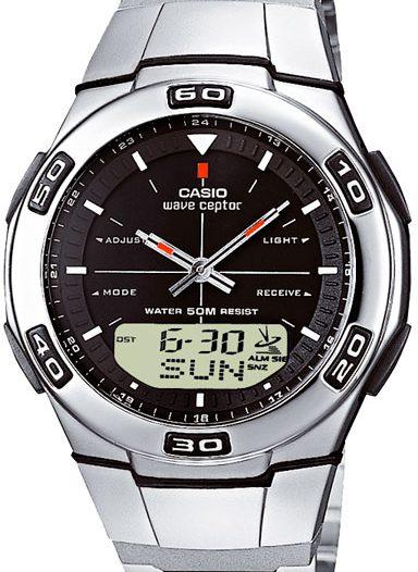 Наручные мужские часы Casio WVA-105HDE-1A