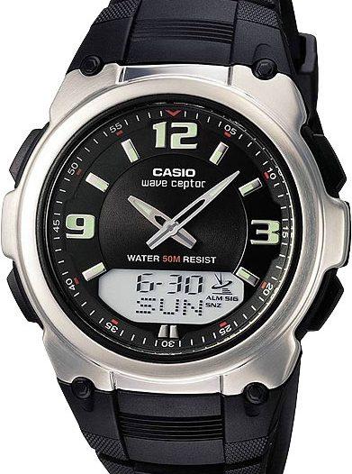 Наручные мужские часы Casio WVA-109HE-1B