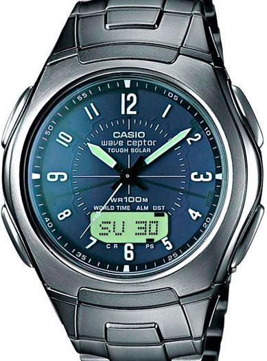Наручные мужские часы Casio WVA-430TDE-1A2